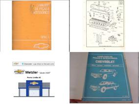 Catálogo De Peças E Acessórios Opala Original Gm