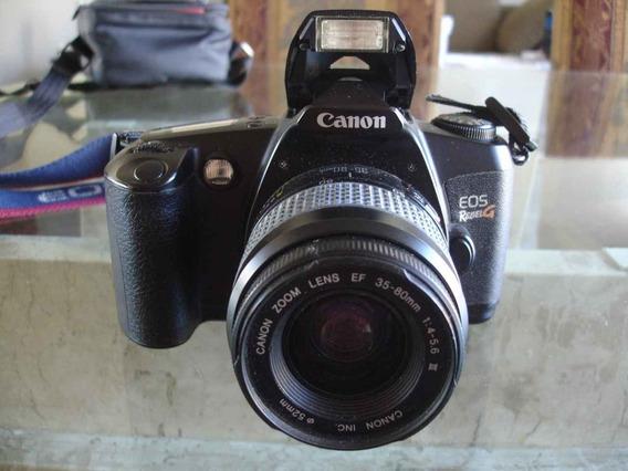 Câmera Canon Eos Rebel G Analógica Usa Filme 135 Ou 35mm