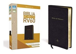 Biblia Del Ministro Rvr 1960 (edicion En Español)