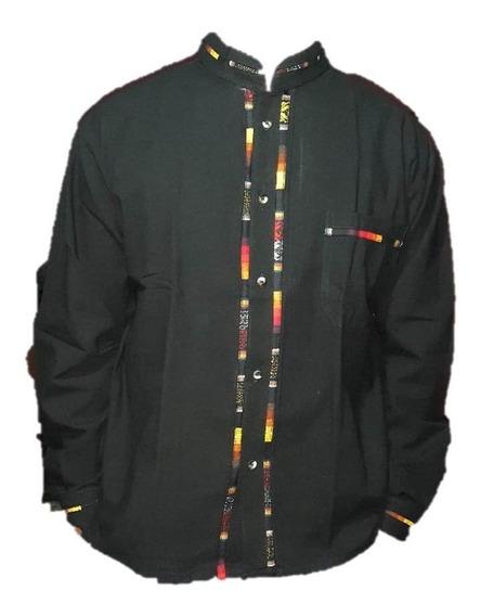 Guayabera/camisa Artesanal Manga Larga