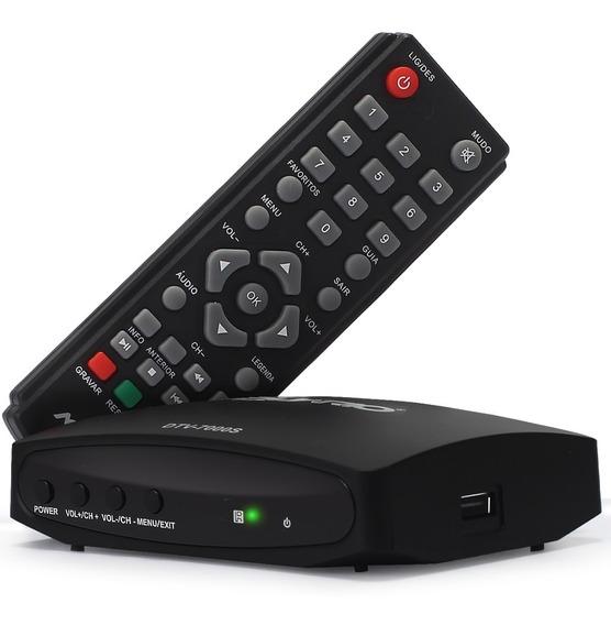 Conversor Digital Tv Aquario Dtv7000s Visor Digital Hdmi Rca
