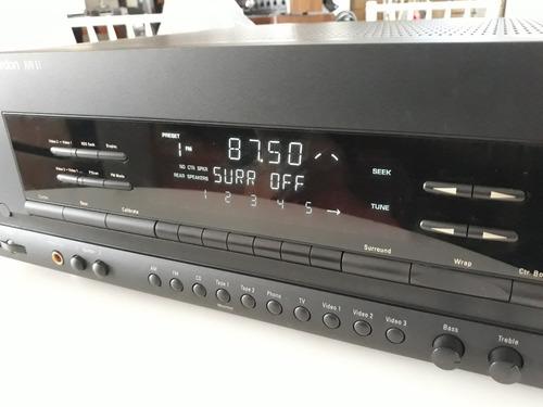 Receiver Harman Kardon Avr 51 Stereo & Home Phono Controle