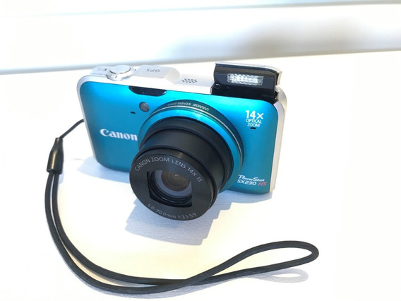 Máquina Fotográfica Digital Canon Azul
