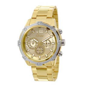 Relógio De Pulso Masculino Dourado Covd54ae