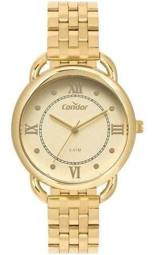 Relógio Condor Feminino Co2035mpq/4d Dourado C/ Nota Fiscal