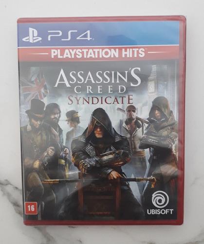 Jogo Assassins Creed Syndicate Dublado Ps4 Mídia Física Novo