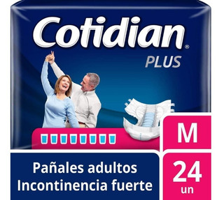 Cotidian Pañal Adulto Plus X 24 Unid Deltamed