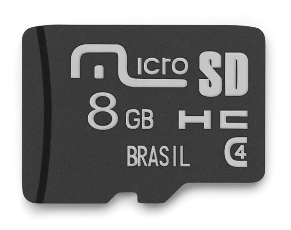 Cartao De Memoria 8gb Multilaser - Mc141