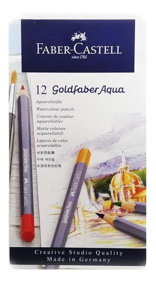 Color Gold Acuarela Fabercastell