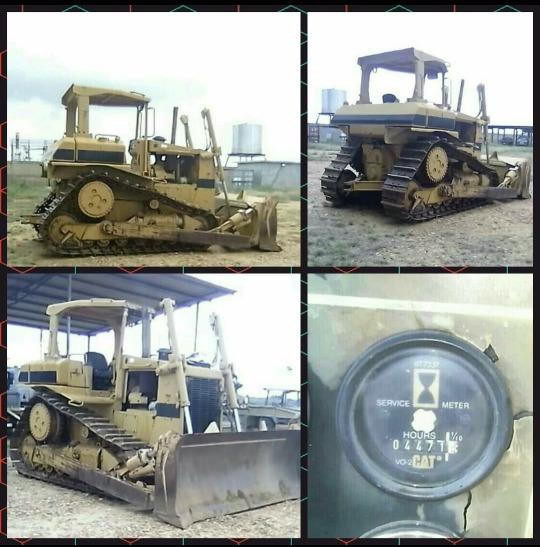 Tractor D6 Cat De La Serie H