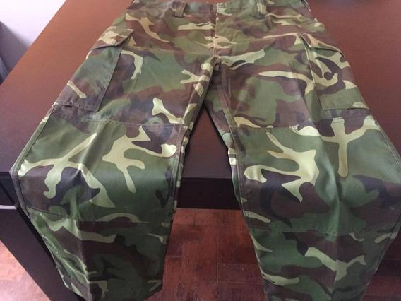 Pantalon Militar Camuflado