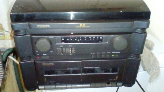 3x1 Philips As125(toca-disco, Rádio, Tape)