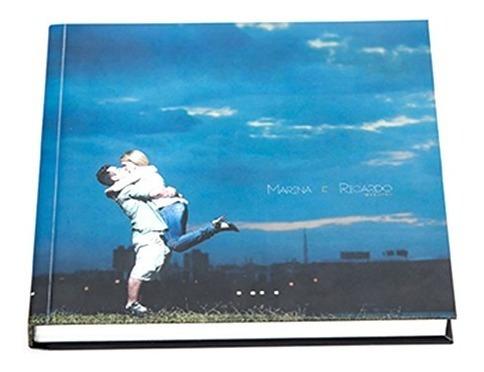 Álbum De Fotos Personalizado 20x20 Capa Dura 30 Pág
