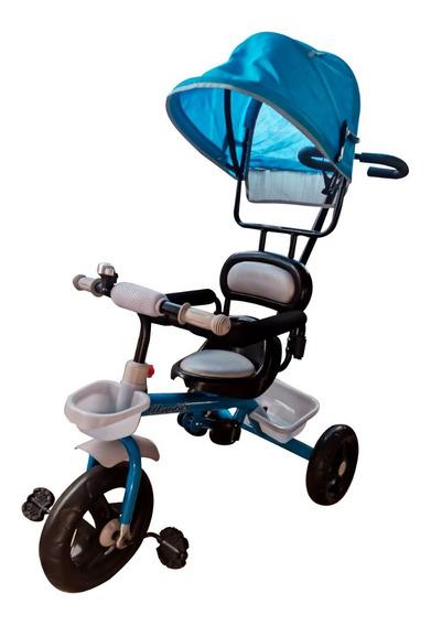 Triciclo Infantil Velotrol Passeio Com Cobertura Capota Sol