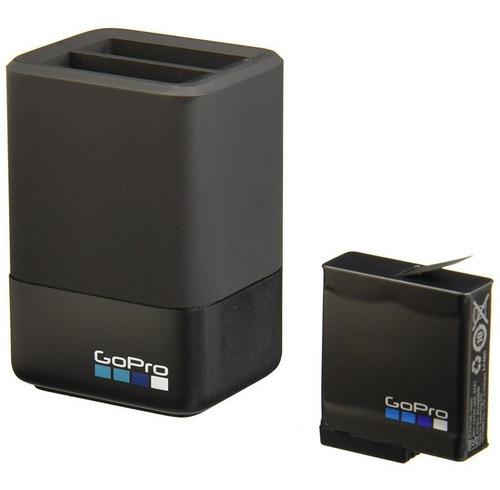 Imagem 1 de 5 de Carregador + Bateria Gopro Para Hero5, Hero6 E Hero7 Black