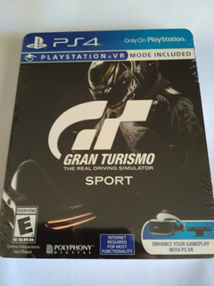 Gran Turismo Sport Steelbook Edition Ps4 Nuevo Sellado