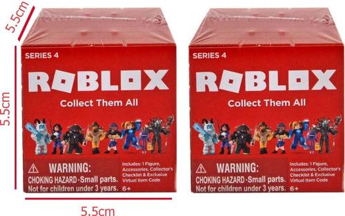 2 Cajitas Roblox S4 Mistery Box (brick Cube) Original 2 Figu