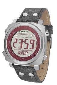 Relógio Lince Masculino Digital Quadrado - Mdch070l Vxpx