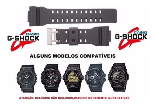 Pulseira Casio Ga-100 Ga-110 Ga-120 Gd-100 Gd-100gb G-shock