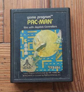 Pac-man Juego De Atari
