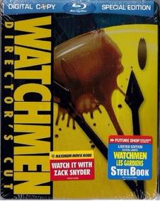 Blu-ray Watchmen (steelbook) Novo Lacrado [importado]