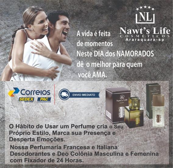 Kit Colonia E Desodorante Da Nawts Life