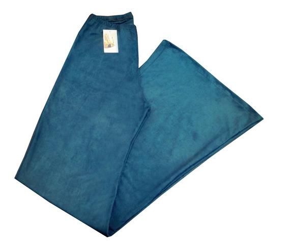Pantalon Oxford Gamuza Elastizado Mujer - Todos Los Talles