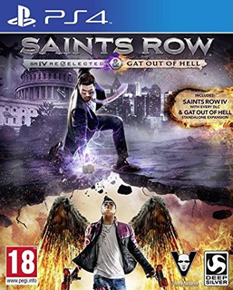 Ps4 Saints Row Iv: Re-elected & Gat Out Of