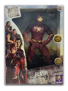 Muñeco Flash Gigante 50 Cm Liga Justicia Sharif Express