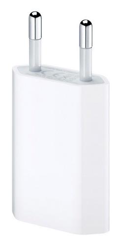 Ficha Cargadora Original Apple Usb Pata Redonda