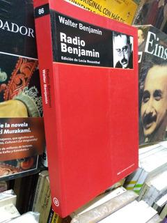 Radio Benjamin, Walter Benjamin -rf Libros Ed Rosenthal