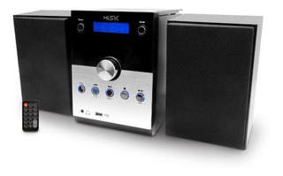 Micro Componente Misik Mm618 Negro/ Bluetooth/rep. De C...