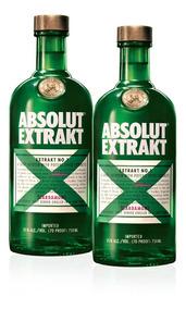 Kit Vodka Absolut Extrakt 750ml - 2 Unidades