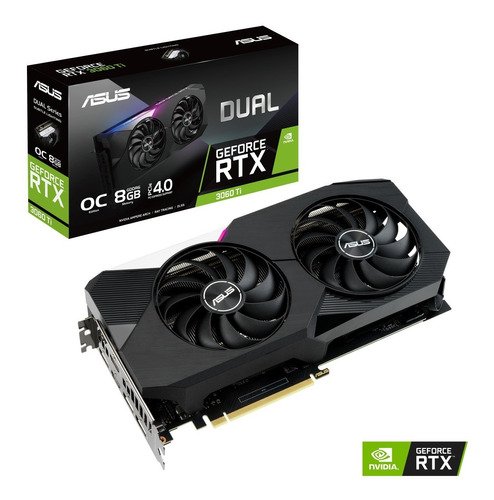 Tarjeta De Video/grafica Asus Dual Nvidia 8gb Rtx 3060 8gb