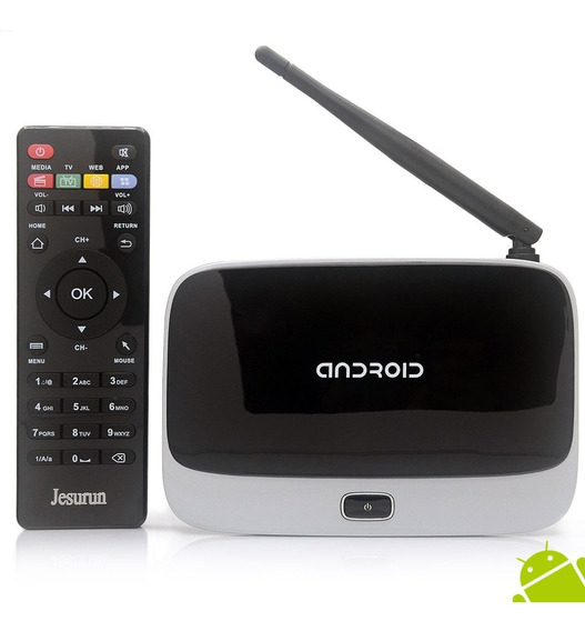 Box Android Q7 - Transforma Sua Tv Em Smartv - Pouco Uso