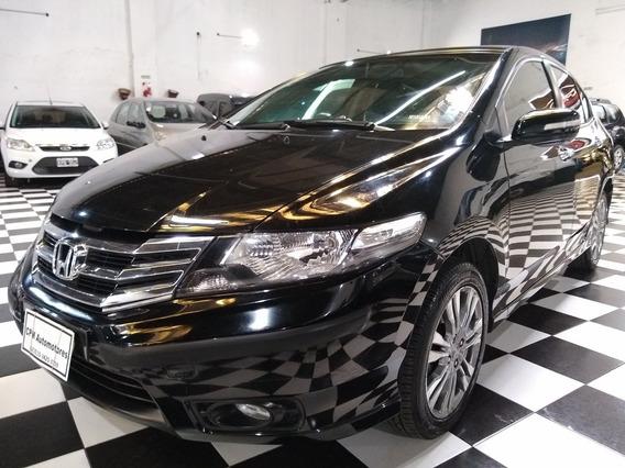 Honda City 1.5 Exl 2014 Negro Lm