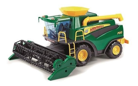 Brinquedo Poliplac Colheitadeira Verde Fazendeiro Ref. 6150