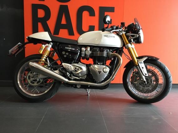 Triumph Thruxton R - Branca