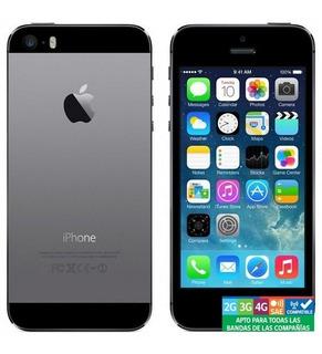 iPhone 5s 16gb 4g Vidrio + Cargador Itr