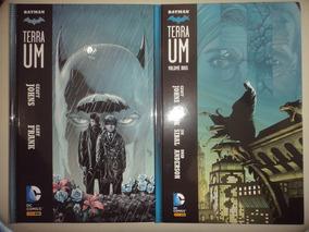 Batman Terra Um Volumes 1 E 2 Panini Frete Gratis 2013 Excel