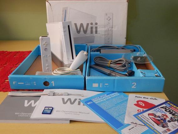 Wii Desbloqueado (usb, Sd, Gamecube, Emuladores) Jogos Caixa