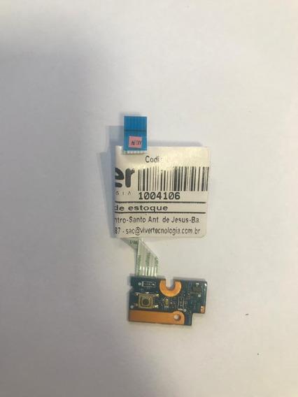 Botão Placa Power Notebook Hp G42 G42-272br Da0ax1pb6e0