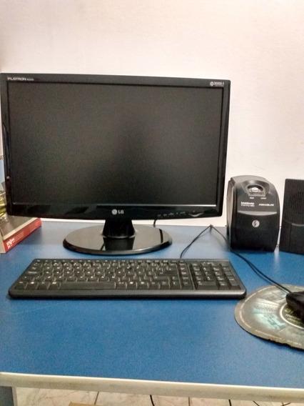 Computador Completo, 200 Gb, 4 Gb De Ram, Placa De Vídeo Amd