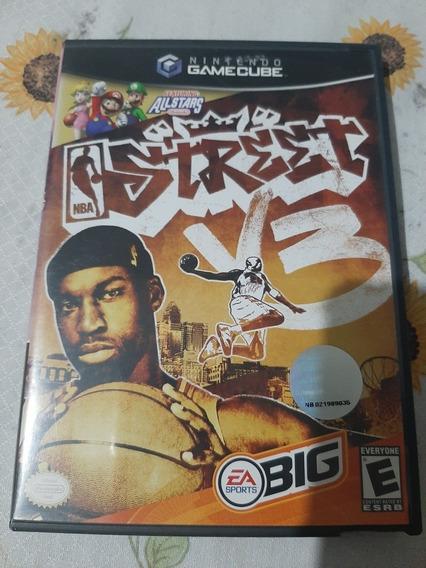 Nba Street V3 Gamecube Original Americano