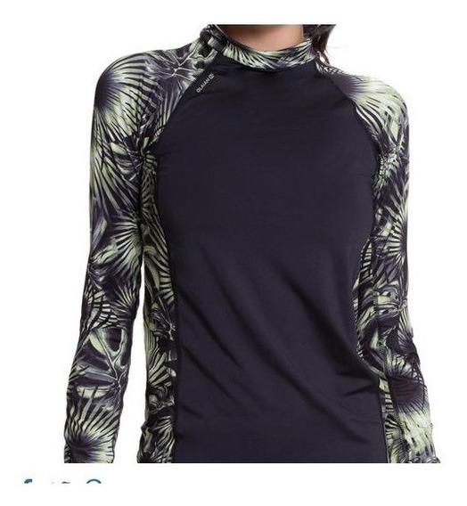 Camisa Blusa Proteção Solar Feminina Upf50+ Praia Piscina