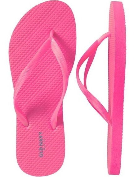 Sandalia Old Navy Para Dama Color Rosa Neon