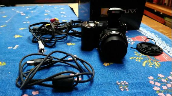 Câmera Filmadora Digital Nikon 10 Megapixels