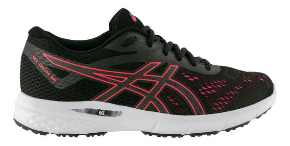 Zapatillas Asics Running Mujer Gel Excite 6 Ngo/ros