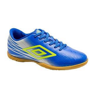 Tenis Futsal Umbro Hit Adulto Azul Original + Nf De: 149,90