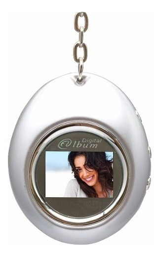 Chaveiro Porta Retrato Digital Com Relógio 12490-cl